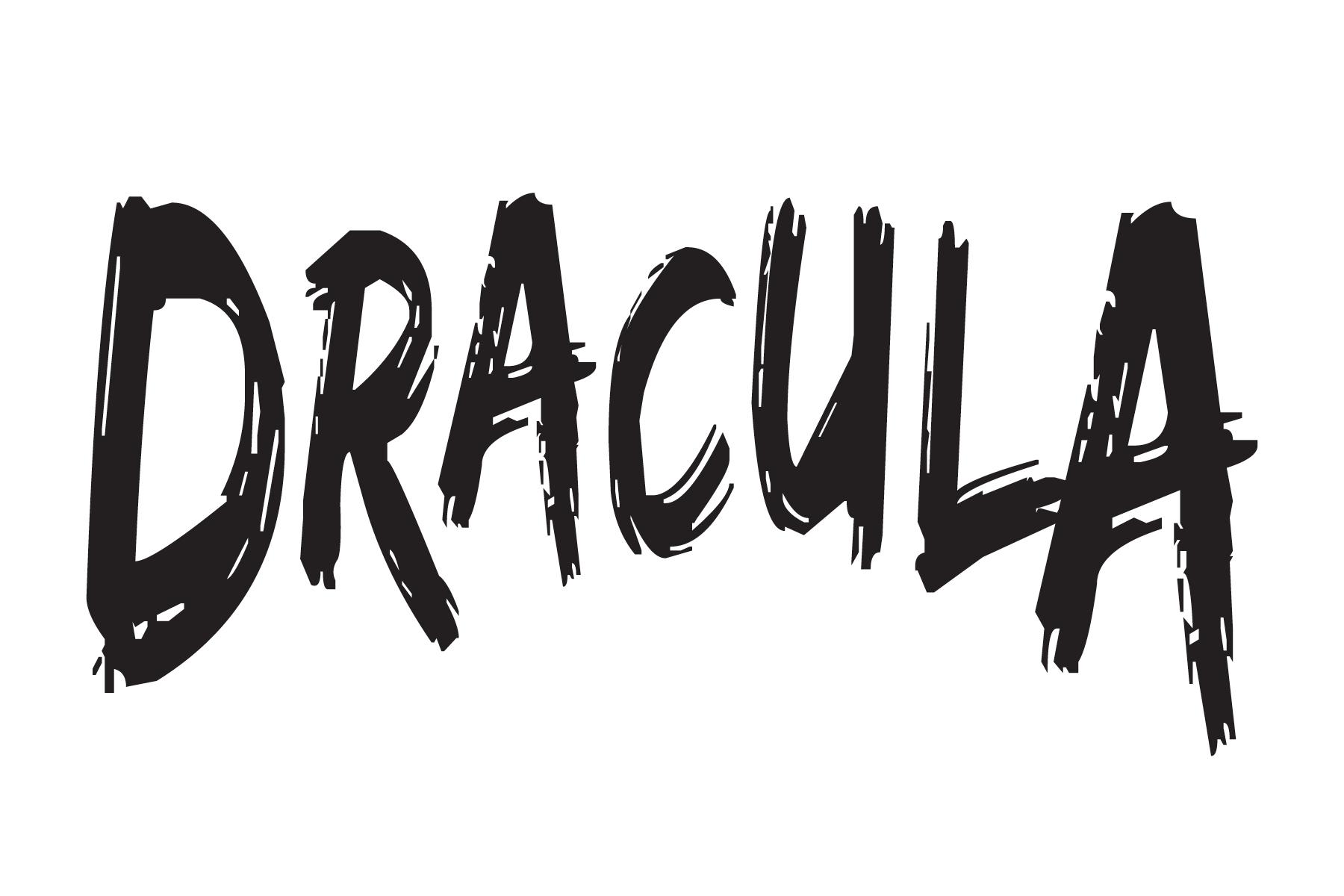 Dracula Title Treatment