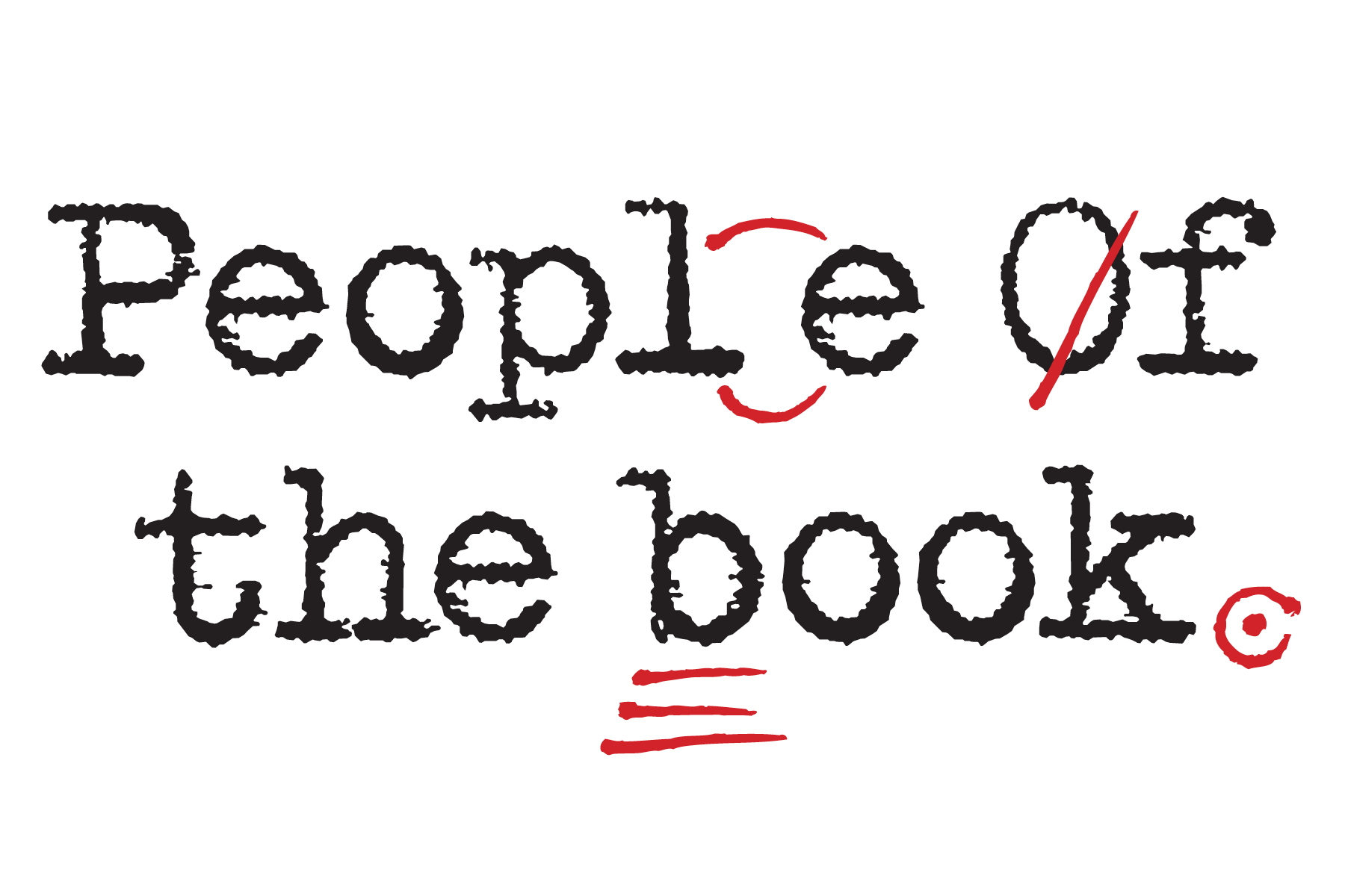 People of the Book Title Treatment