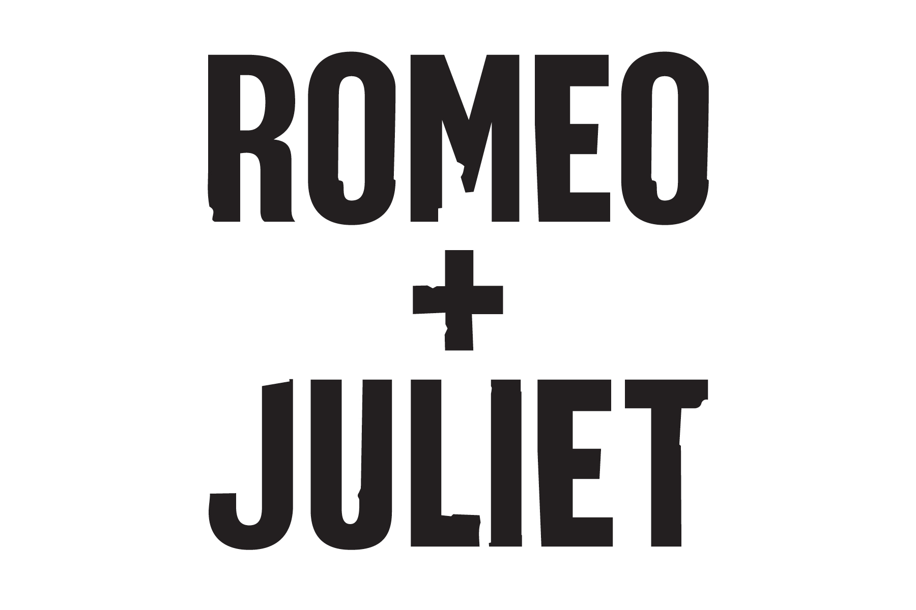 Romeo & Juliet Title Treatment
