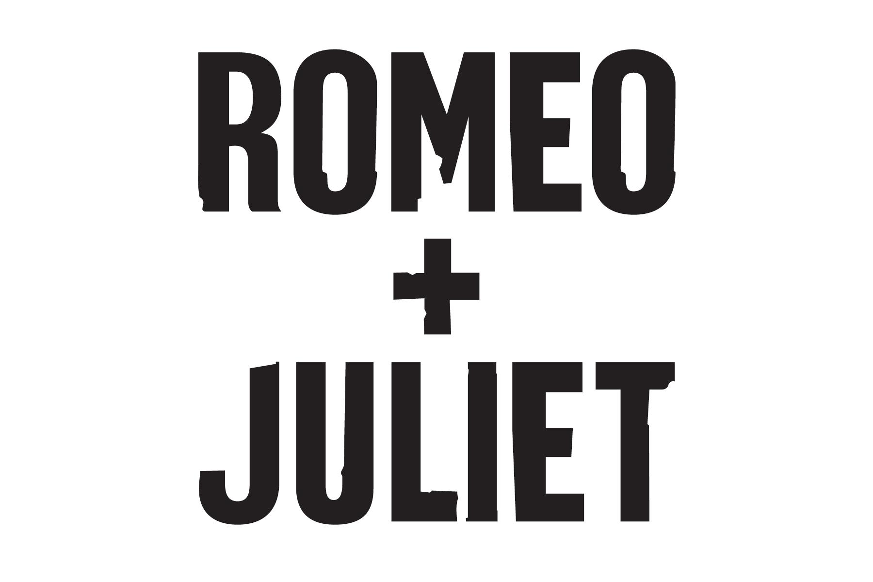 Romeo & Juliet Title Treatment