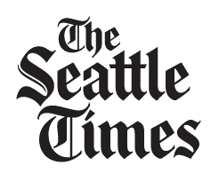 Seattle Times - Stacked logo image