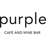 purple cafe logo